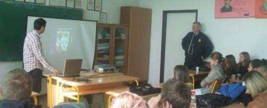"""Održano edukativno predavanje za učenike JU """"MSŠ"""" Tuzla"""