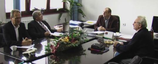 Sastanak sa delegacijom  Saveza udruženja policije TK-a 1991-1995