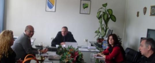 Sastanak ministra MUP TK-a sa predstavnicima Regionalnog ureda OSCE-a Tuzla