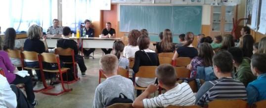 """PS Srebrenik – Održano preventivno predavanje na temu """"Prevencija bolesti ovisnosti"""""""