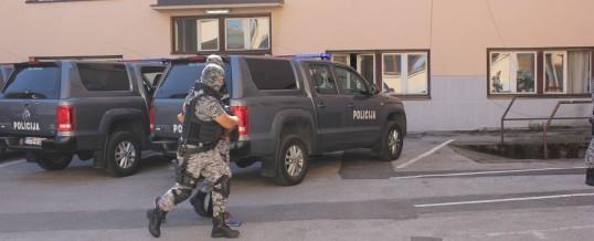 Hapšenja na području Živinica