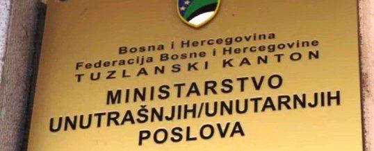 """JAVNI KONKURS – OGLAS za prijem kandidata u čin """"policajac"""" u Upravi policije MUP-a TK"""