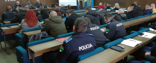 Uprava policije – Edukacija policijski službenika