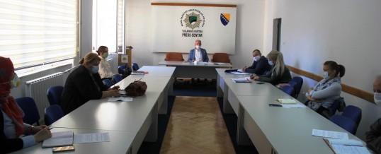 Konstituirajuća sjednica Koordinacionog tima za borbu protiv trgovine ljudima TK-a