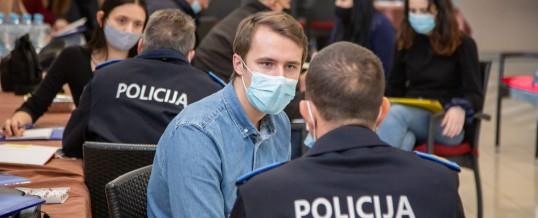 """Edukacija za policijske službenike i studente u okviru  kampanje """"Čuješ, vidiš, znaš – Reaguj!"""" pozovi 122"""