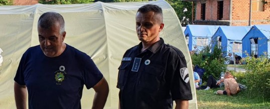 Direktor Uprave policije posjetio učesnike Marša mira Srebrenica 2021